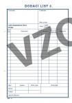 mSk 11 - DODACÍ LIST A5-COPY  100L