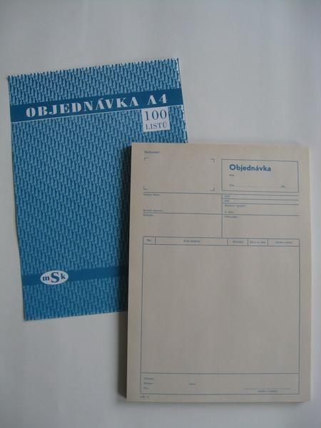 mSk 5 - Objednávka A4       100L