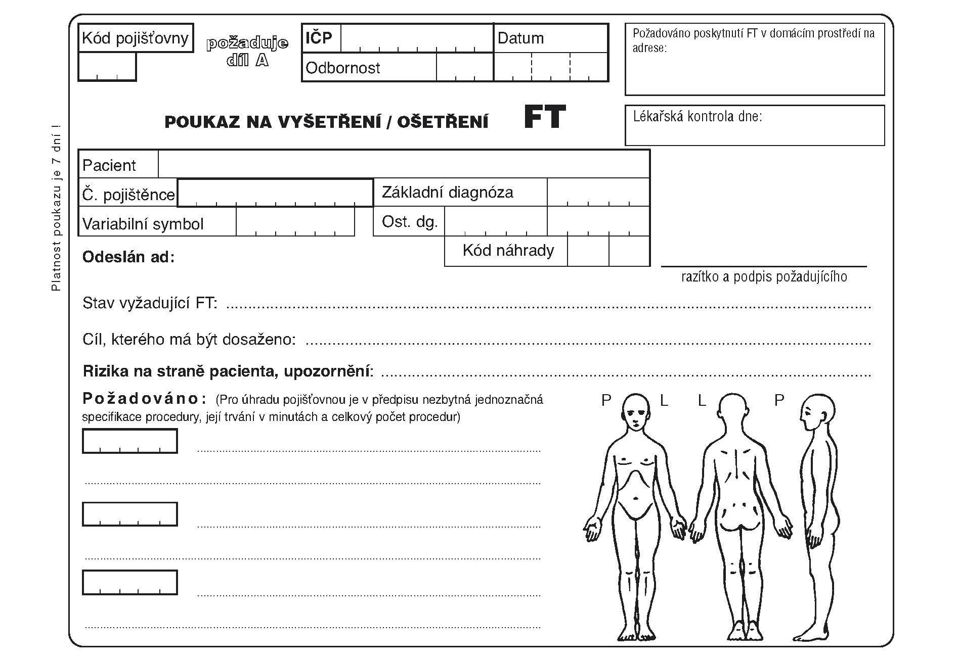 06ft-Poukaz na vyšetření-ošetření FT-A5
